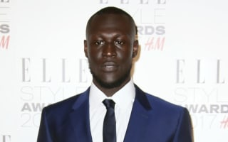 Rapper Stormzy claims he woke up to police 'destroying' his front door