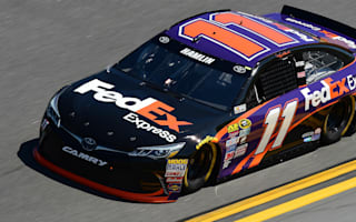 Hamlin secures victory at wreck-filled Sprint Unlimited