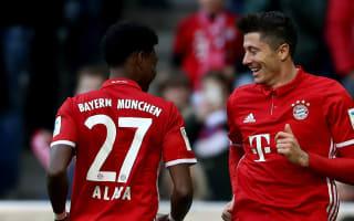 Bayern Munich 8 Hamburg 0: Lewandowski hits hat-trick in special day for Ancelotti