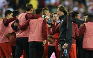 Gareca: Peru deserved win despite controversial goal