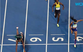 Shaunae Miller's dive over the finish line is one of the most relatable things to happen this Olympics