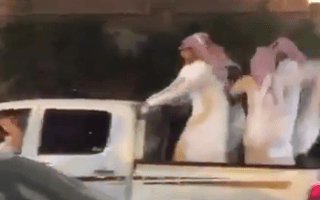 Sheikh Away! Speedy getaway goes badly wrong
