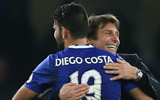 Conte thrilled with Costa contribution after wantaway wobble