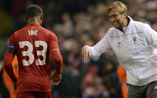 Klopp rubbishes Ibe rift claims