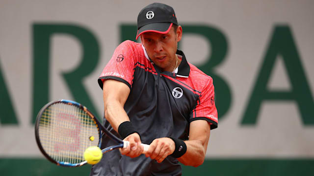 Gilles Muller won the battle of services — ATP 's Hertogenbosch