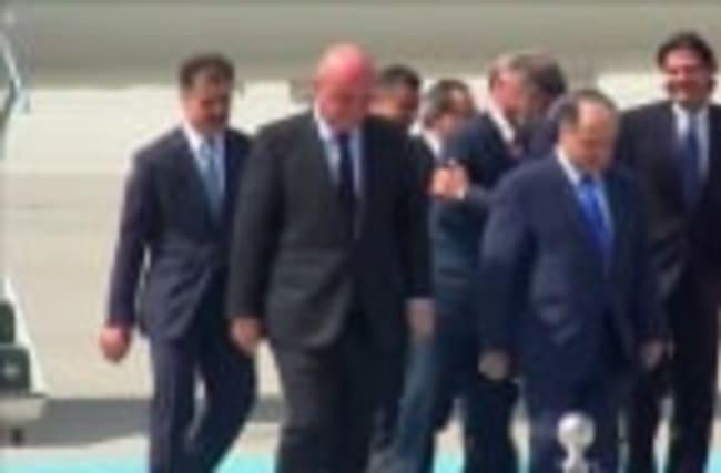 Iraqi Kurdish leader meets Erdogan
