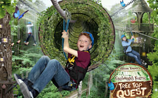 Win! A family break at Alton Towers' Enchanted Village