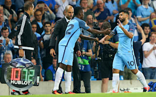 Guardiola excited by Aguero, Iheanacho and Gabriel