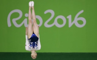 Britain's Bryony Page clinches shock trampoline silver