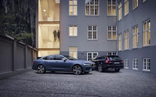Volvo reveals S90 and V90 R-Design models