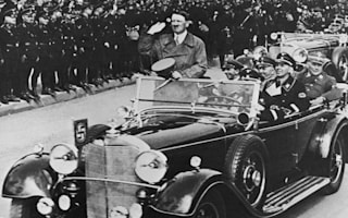 Hitler was caught speeding...and blamed someone else