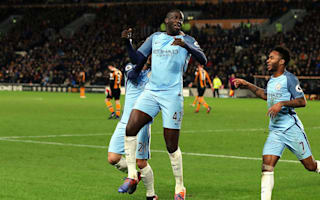 Guardiola lauds 'outstanding' Toure