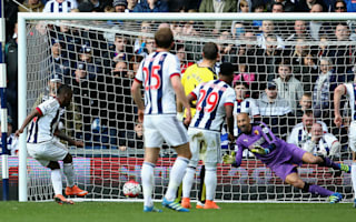 West Brom 0 Watford 1: Gomes the penalty hero for FA Cup semi-finalists
