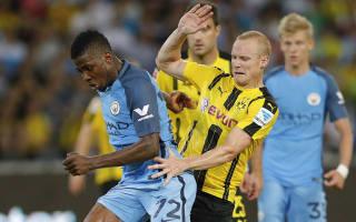 Borussia Dortmund 1 Manchester City 1 (5-6 pens): Gunn's shootout saves earn Guardiola first win