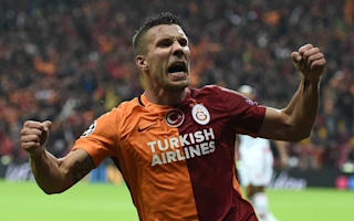Podolski not looking for Galatasaray exit