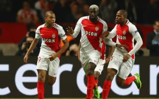 Monaco 3 Manchester City 1 (6-6 agg, Monaco win on away goals): Bakayoko has final word as Guardiola's men pay for feeble opening