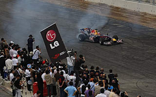 Chandhok completes first laps on Korea's F1 track