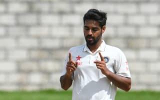 Bhuvneshwar blitz skittles West Indies