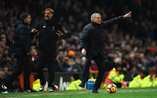 'We attacked, Liverpool defended' - Mourinho insists a point flattered Klopp's men