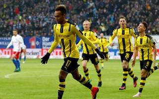 Hamburg 2 Borussia Dortmund 5: Aubameyang marks return with brilliant four-goal haul