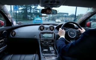 Video: Jaguar shows off its sci-fi virtual windscreen