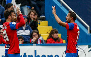 Levante 2 Atletico Madrid 1: Rossi ends visitors' title dreams