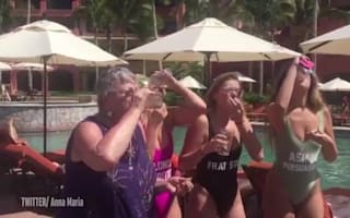 Grandma filmed downing shots with Spring Break partygoers in Mexico