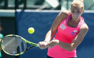 Kristyna Pliskova follows sister's lead in China