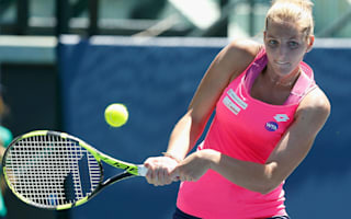 Kristyna Pliskova follows sister's lead in China