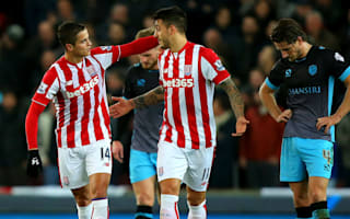 Stoke City 2 Sheffield Wednesday 0: Potters end visitors' League Cup run
