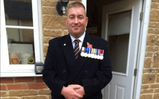 Ex-soldier turns to Twitter in search of chauffeur work