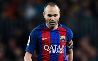 Iniesta suffers calf injury