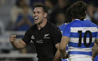 All Blacks smash Pumas to close in on Test win record
