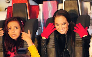 Tulisa gives Hyde Park's Winter Wonderland the X Factor