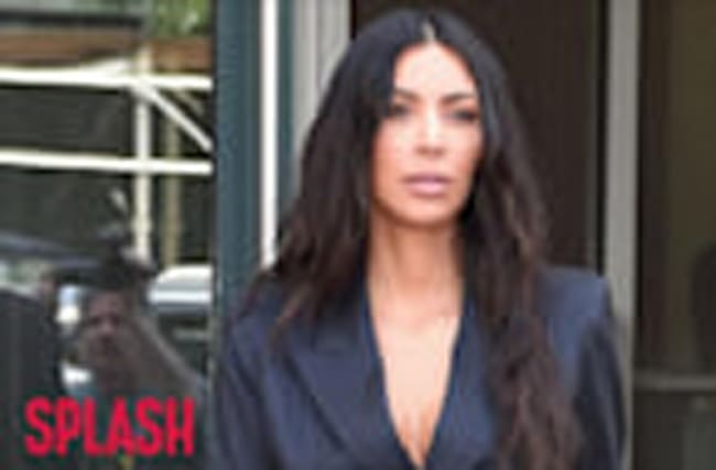 Kim Kardashian Criticized For Front-Facing Car Seat