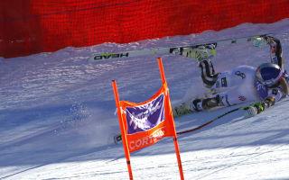 Vonn avoids serious injury in training crash