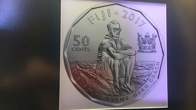 Fiji issues $7 note to celebrate Olympic sevens win