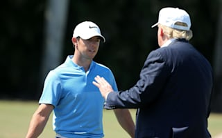 McIlroy would 'think twice' about future rounds with Trump