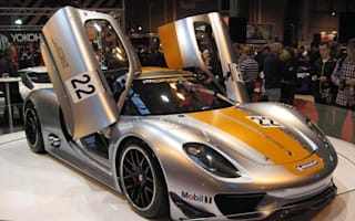 Video: Porsche 918 RSR at Autosport International