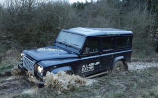 Shocking! Land Rover Defender goes electric