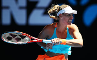 Kerber in cruise control, Kuznetsova battles through