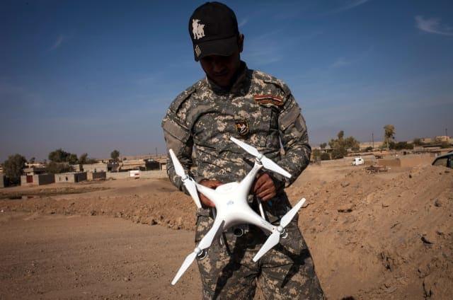 DJI bloquea sus drones en Irak y Siria para que ISIS no los use como armas