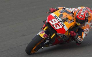 Marquez dominant despite FP2 crash