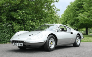Keith Richards' Ferrari Dino up for auction