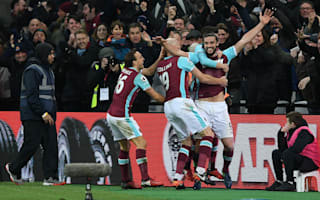 West Ham 3 Crystal Palace 0: Carroll scissor-kick helps Hammers to victory