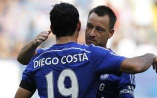 Conte: Costa is a warrior, Terry still a leader
