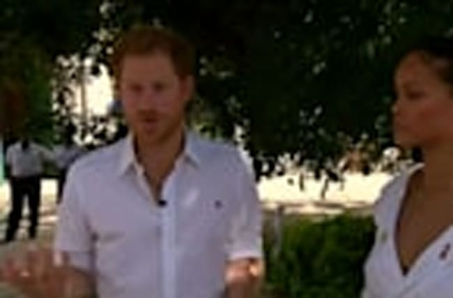 Prince Harry and Rihanna undergo HIV test in Barbados