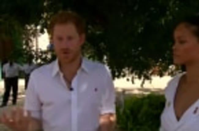 Prince Harry and Rihanna undergo HIV test in Barbados