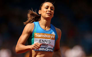 Ennis-Hill suffers Achilles injury