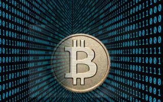 Bitcoin backed for online spending